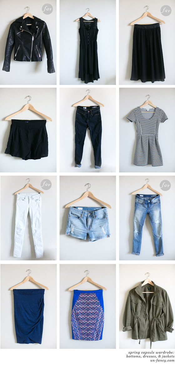 "Capsule Wardrobe- ""Un-fancy"""