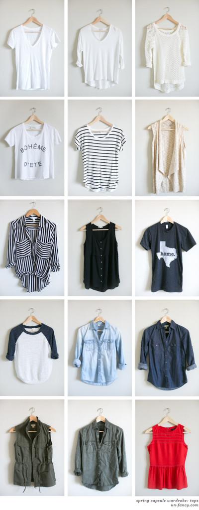 my capsule wardrobe // spring 2014