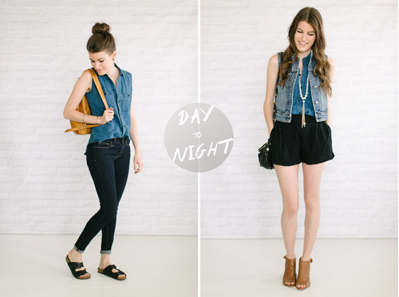 how to take your basics from day to night