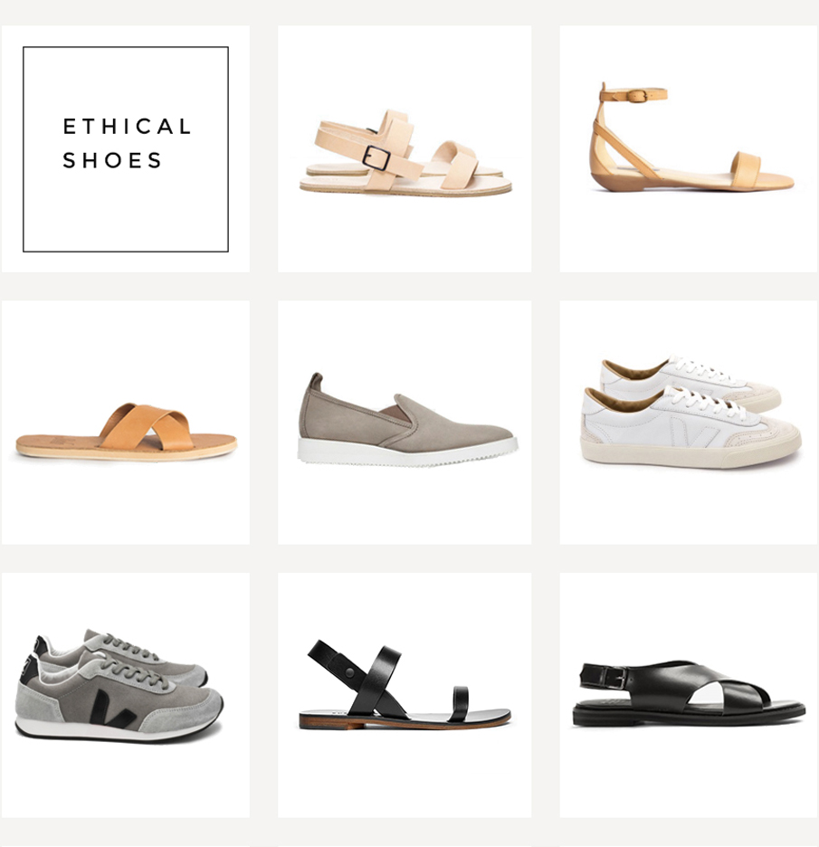 ethical closet: shoes + bags + active wear