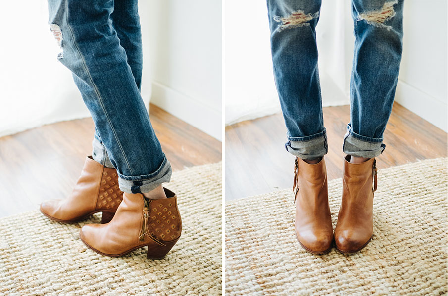 How to wear ankle booties with jeans / part I: three ways I've ...