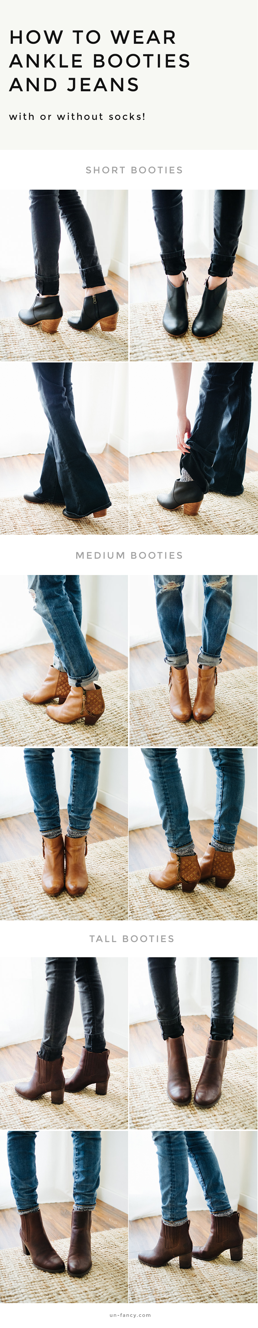 how-to-wear-ankle-booties-with-jeans