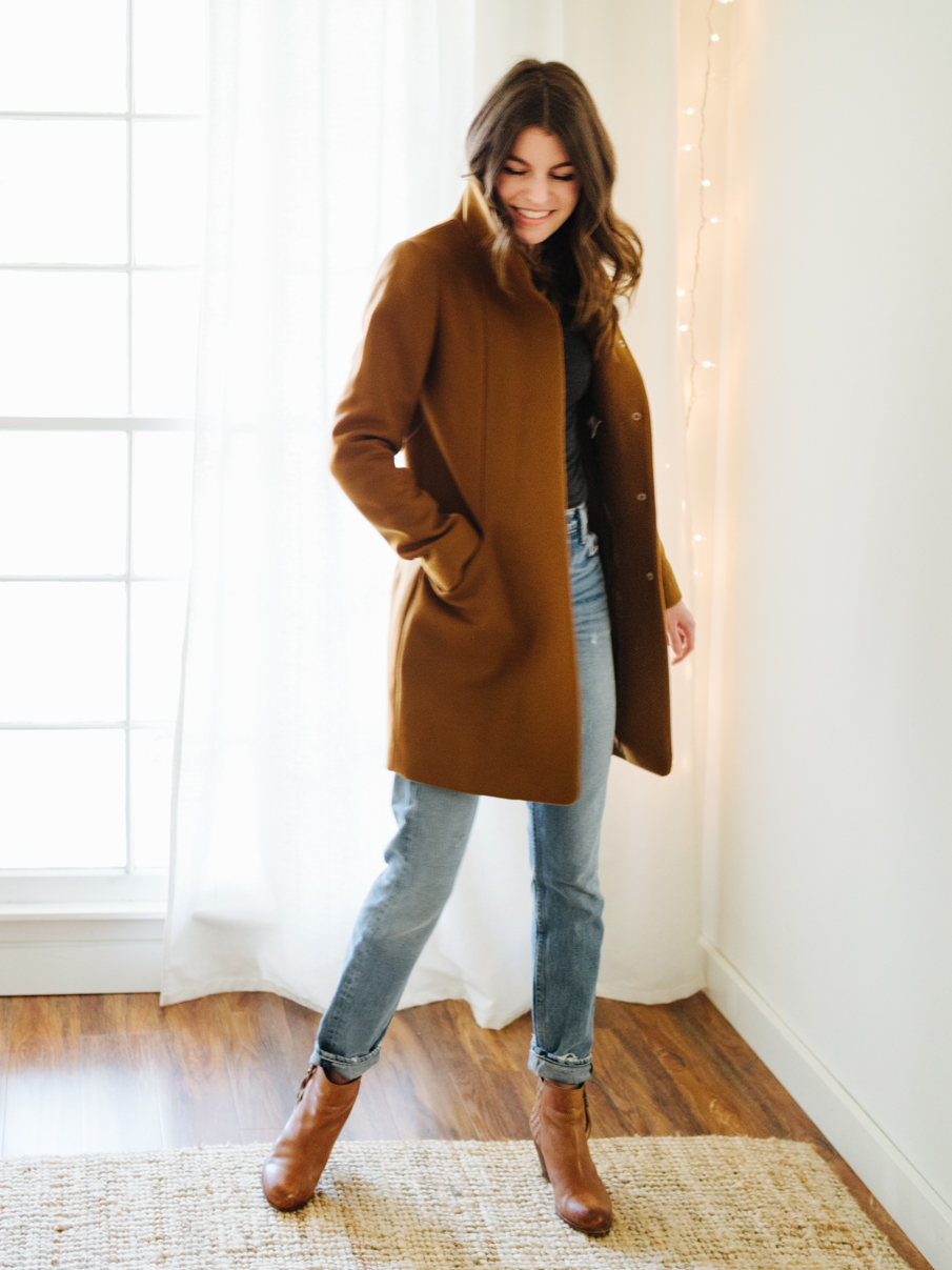 winter coats: a learning experience