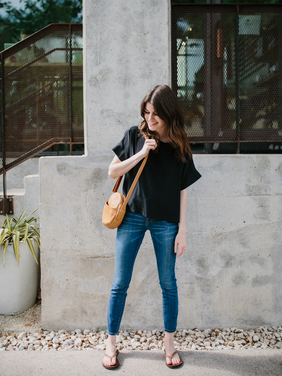 part 2: styling a silk tee four ways