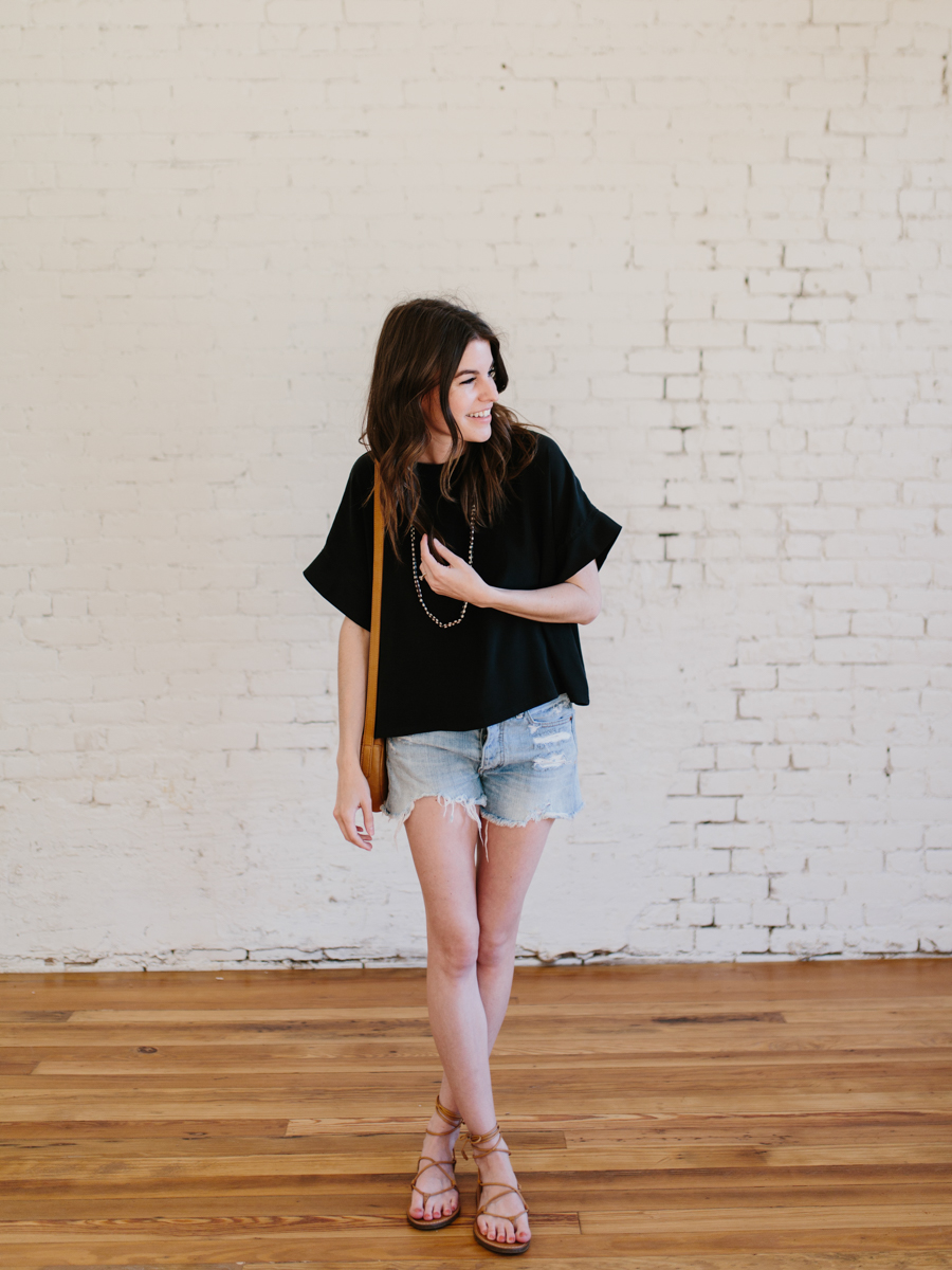part 3: styling a silk tee four ways