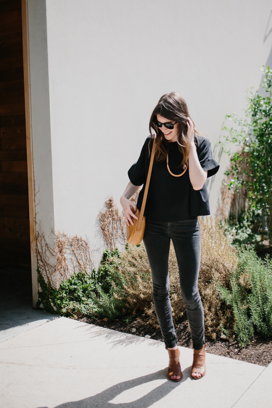 part 4: styling a silk tee four ways