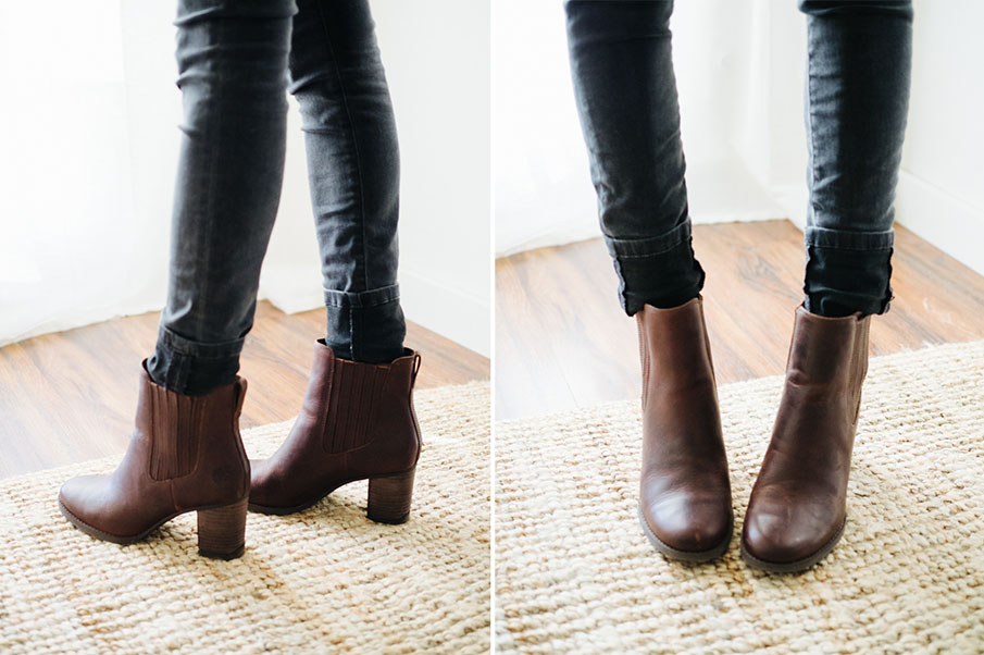 How to wear ankle booties with jeans / part I: three ways ...
